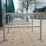 Foto von neuen Fahrradständern